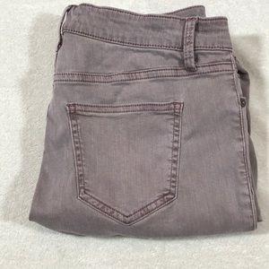 Pistola stretchy cropped jeans size 29